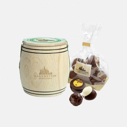 手工橡木桶松露黑巧克力 | 精选委内产区可可豆