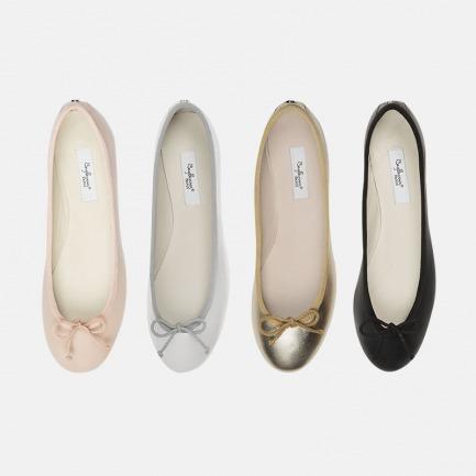 芭蕾舞单鞋 | 100%皮革,极具诗意灵感