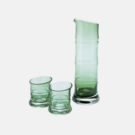 竹酒器礼盒装(3件装) | 包括竹酒杯和竹酒器