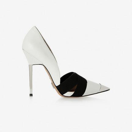 MICHAEL KORS Ana 皮革和金属高跟鞋