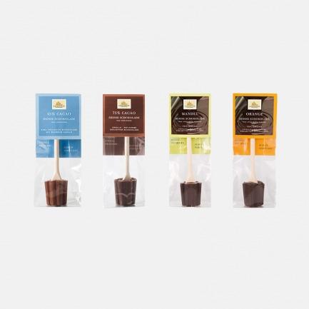 城堡巧克力搅拌棒组合装   德国进口纯手工制作