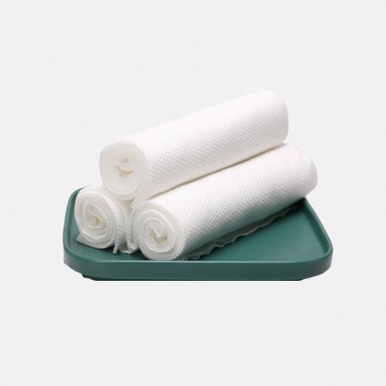 一次性旅行浴巾 | 天然植物纤维,真空灭菌