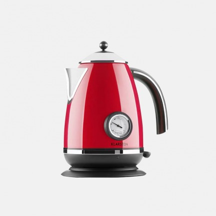 高款不锈钢茶壶 1.7L | 精致优雅,复古外观设计