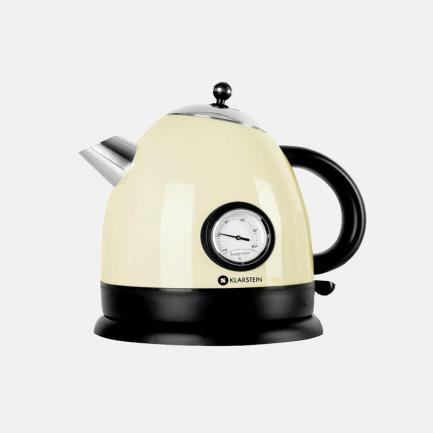 圆款不锈钢水壶 1.7L | 精致优雅,复古外观设计