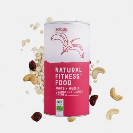 有机植物蛋白片蔓越莓藜麦腰果 | 低碳低脂高蛋白,有机脱油大豆原料