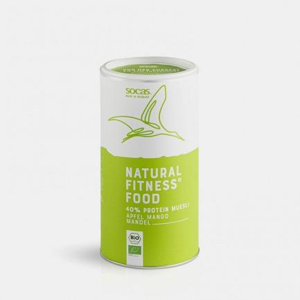 有机植物蛋白片苹果芒果杏仁 | 低碳低脂高蛋白,有机脱油大豆原料