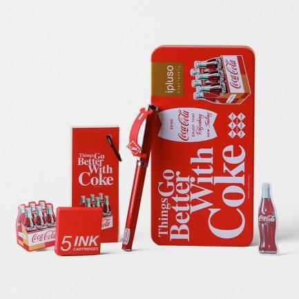 可口可乐限定钢笔礼盒 | 可口可乐正版珍藏