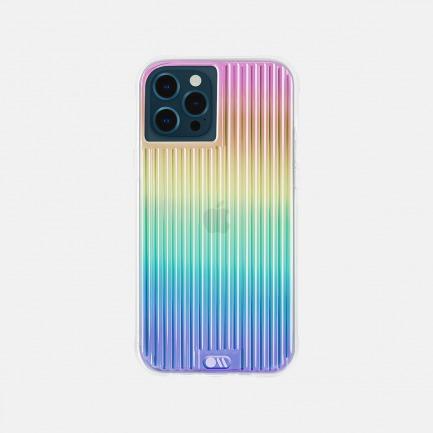 律动条纹手机壳 | 彩虹镭射纹路 明星同款