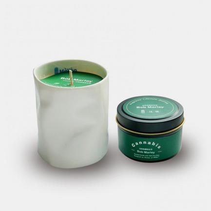 香氛蜡烛 鲍勃·马利   调香师创造大麻的迷幻意境