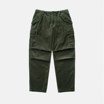 重磅灯芯绒军事工装口袋裤 | 原创设计,定制面料