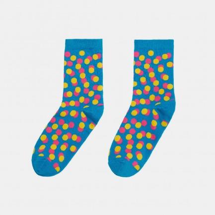 波点中筒袜 | 时尚美观 质感舒适