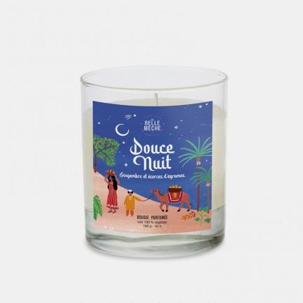 甜美夜晚插画蜡烛 | 天然成份 独特香气