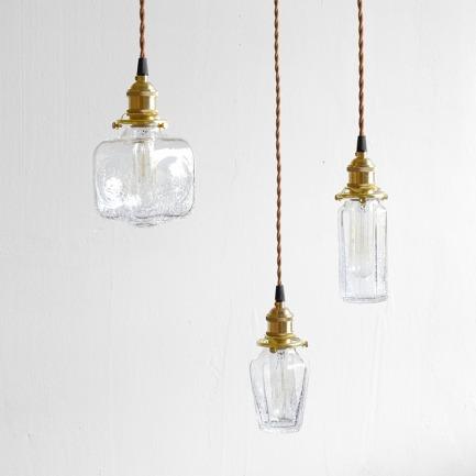 裂纹玻璃吊灯 | 造型简约小众高颜值灯饰