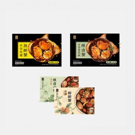 谢礼 大蟹小蟹礼盒 | 多种口味 肉质甜美