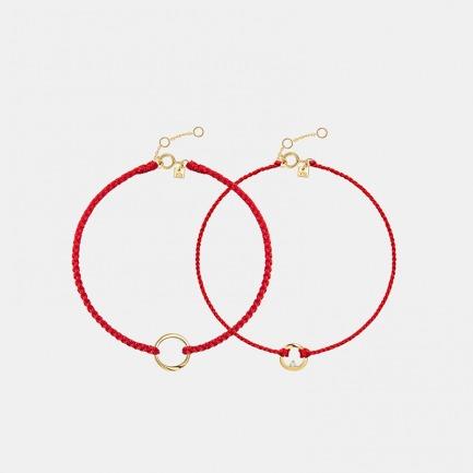 莫比乌斯环红绳 | 手工编织 美好寓意相伴