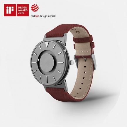 触觉磁力钢珠手表   用触摸感知时间