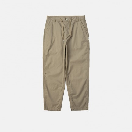 春夏休闲抽绳锥形裤 | 厚度适中 上身清爽