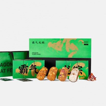 长·山林湖海粽子礼盒 | 燕窝鲍鱼瑶柱一口拿下