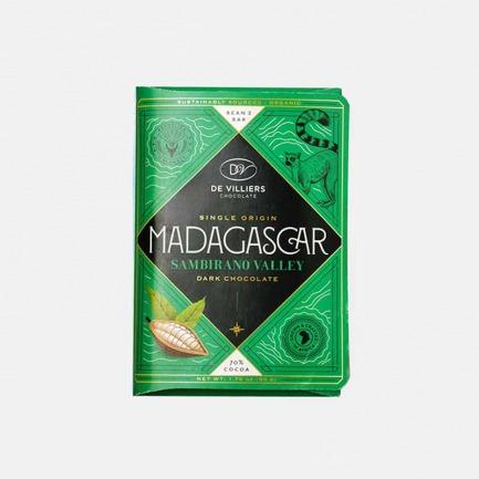 马达加斯加70%黑巧克力 | 内含柑橘葡萄干