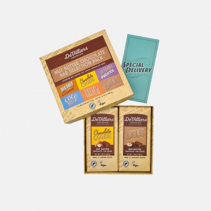 坚果酱黑巧克力礼品装 | 6种口味 不添加人工香精