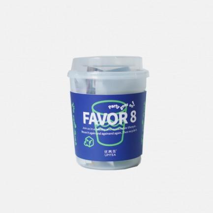 8种口味人气风味茶包 | 环保便携茶杯 冷热泡均可