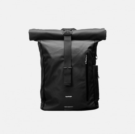 防泼水卷盖背包 | 内有笔记本防震软垫隔层
