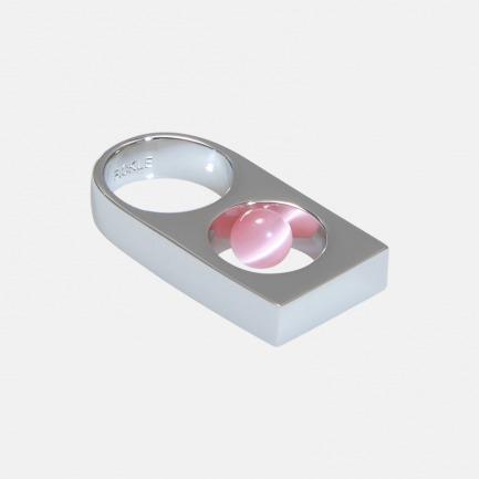 双层立体戒指 | 玉石镶嵌 造型利器