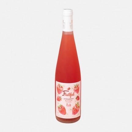 草莓味起泡酒 | 草莓与葡萄共同控温发酵