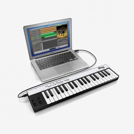 IK Multimedia | iRig KEYS - Mini keyboard controller for iPad, iPhone, iPod touch, Mac and PC.