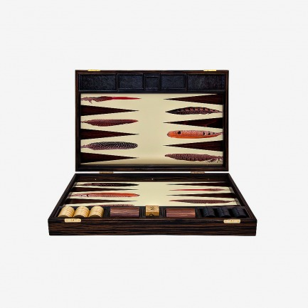 Alexandra Llewellyn Pheasant Backgammon Board