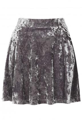 TOPSHOP petiteVELVET skirt