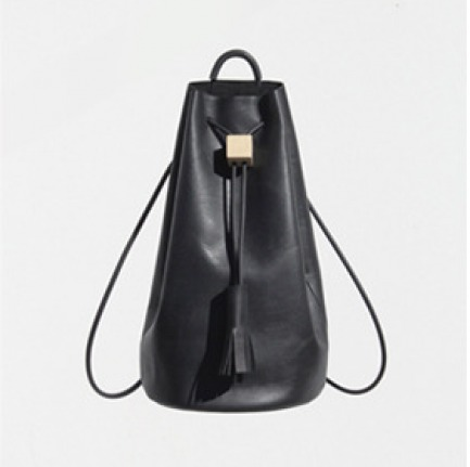 Building Block Leather Backpack