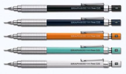 日本Pentel派通绘图自动铅笔 PG605