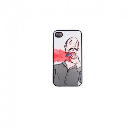 HAKEI iphone4/4s 手机壳 保护壳 iphone case 胡子大叔