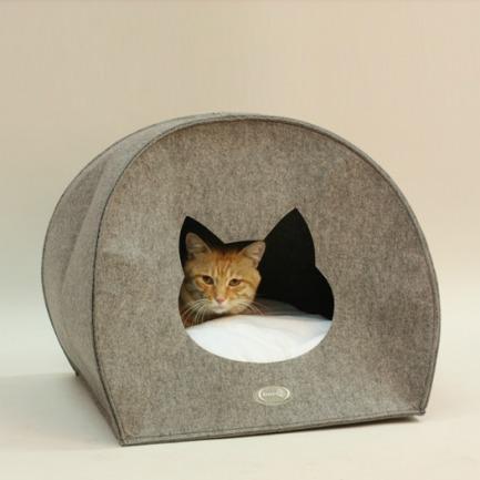 猫型毛毡猫窝狗窝