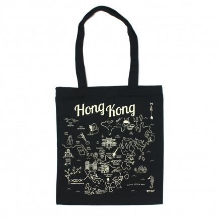 maptote custom hk everyday tote black