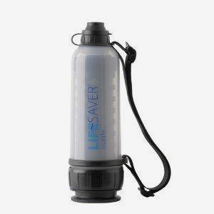 户外救生过滤水壶 LIFESAVER Bottle 6000套装