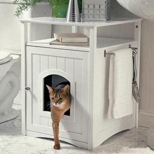 柜子型猫砂屋