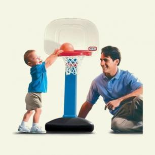 LITTLE TIKES可调篮球架