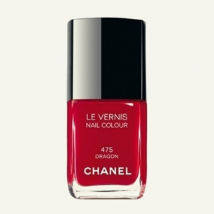 CHANEL红色指甲油