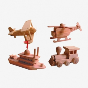 Mini Wooden Construction Kit