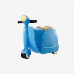 Diggin Skootcase儿童滑轮复古摩托车旅行箱