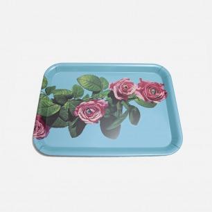 Toiletpaper托盘 -玫瑰 | 意大利极具艺术性家居品牌