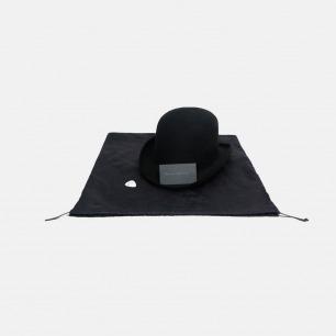 Black Sails羊毛圆顶礼帽 | 手工做的极简风格帽子