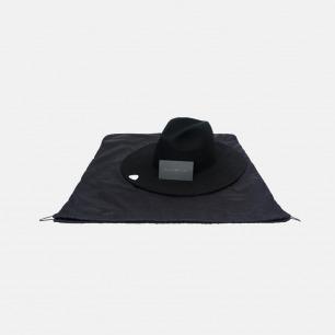 手工羊毛钟形软檐礼帽-Black Sails | 极简帽形  时尚百搭