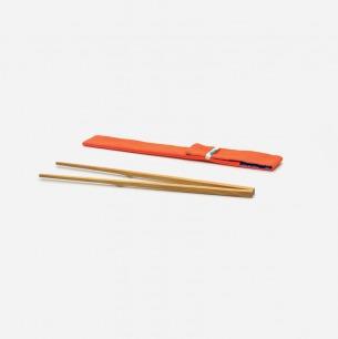 自立竹筷23cm(单节)+ 特制筷套