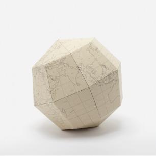 米色折纸地球仪 | 荣获2012红点设计大奖