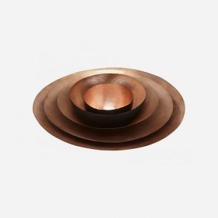 5个手工捏制的红铜碗 | 英国鬼才设计师的生活美学