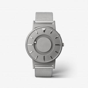 Bradley 银色触感腕表 | 用触摸就能感知时间