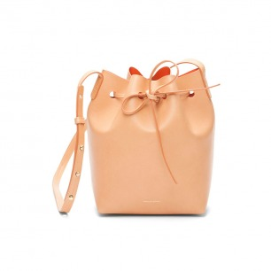 Mansur Gavriel-mini bucket bagcammello